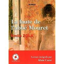 La faute de l'abbé Mouret (1CD audio MP3)
