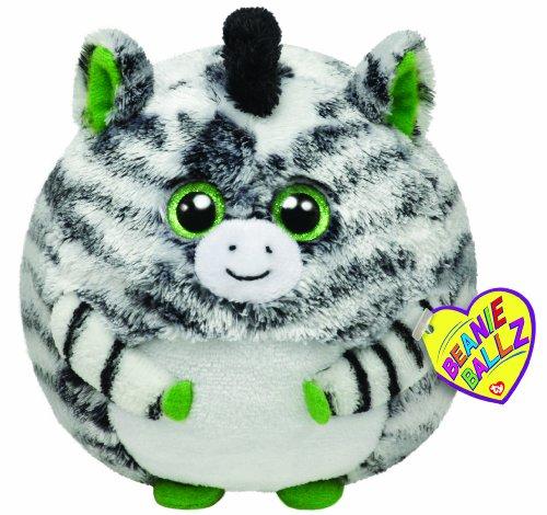 TY 38940 - Plüschtier Beanie Ballz, Oasis Ball X-Large Zebra