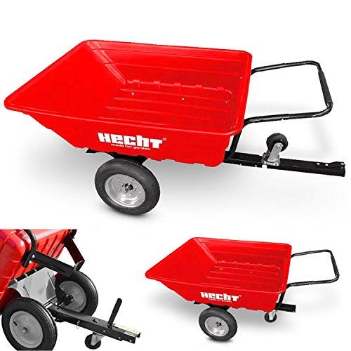 HECHT Transportwagen 53080 Anhänger Kipper und Schubkarre (bis ca. 300 kg Traglast)