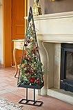 Weihnachtsbaum Metall Schwarz - Wunderschöner Baum als Weihnachtsdeko oder Wohndeko für Ihr Zuhause - Dieser Deko Baum verschönert zur Weihnachtszeit jedes Zimmer und jeden Raum (120cm)