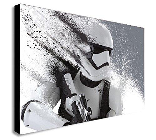 Star Wars Stormtrooper Kunstdruck auf Leinwand verschiedene Größen, holz, A1 32X24