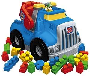 Mega Bloks - 683 - Vehículos en Miniatura - Estopa Mega - Mega Grúa