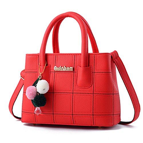 Dame Fashion Damen Tasche Handtasche Messenger Bag Umhängetasche Temperament Korean Version Casual E