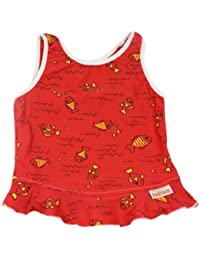 Imse Vimse Tankini Top (rot, Fisch)