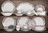 35 Piece Bloomsbury Floral Dinner Set