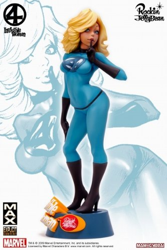 Sideshow Collectibles - Fantastic Four statuette Vinyle Invisible Woman 27 cm