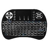 XCSOURCE i8 Mini Clavier sans Fil Rétroéclairage Pavé Tactile 2.4G et Airfly Souris Combo Portatif Pour Google Android TV Box, PC, Xbox 360, PS3, HTPC AC397