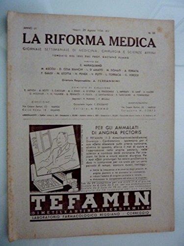 anno-lii-napoli-29-agosto-1936-xiv-n-35-la-riforma-medica-giornale-settimanale-di-medicinachirurgia-