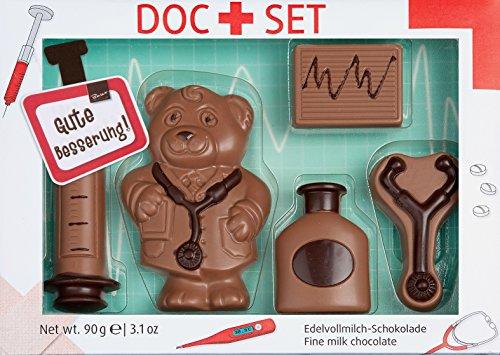 Preisvergleich Produktbild Baur Edelvollmilch-Schokolade Arzt-Set