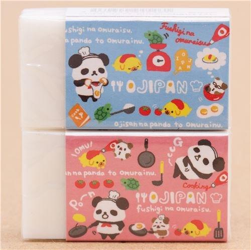 Süßer Ojipan Panda kocht Ketchup Tomate Radiergummi aus Japan