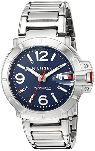 Tommy Hilfiger Analog Blue Dial Men's Watch - TH1791258