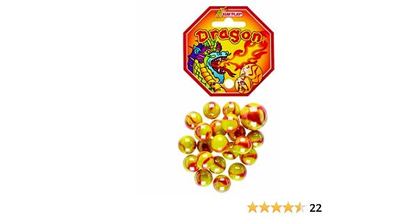 Confezione da 21 biglie Fantasia Dragone KimPlay 500825 1 Grande