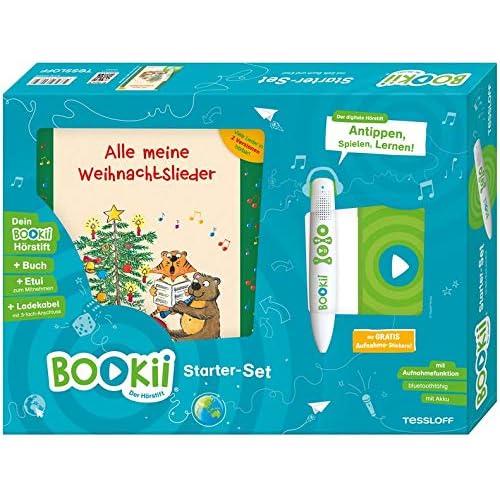 BOOKii® Starter-Set  Alle meine Weihnachtslieder: BOOKii® Der Hörstift mit Aufnahmefunktion und BOOKii® Alle meine Weihnachtslieder