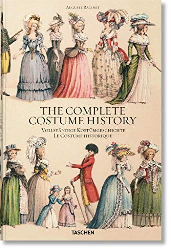 Auguste Racinet. Complete Costume History (For Poor)