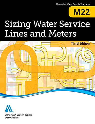 M22 Sizing Water Service Lines and Meters (AWWA Manuals)