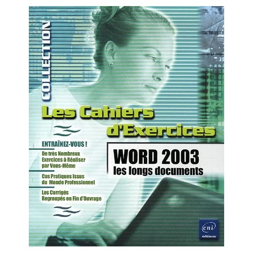 Word 2003 : Les longs documents