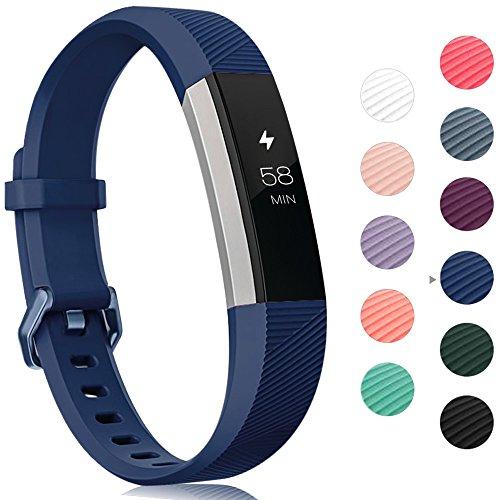 Onedream Armband Kompatibel für Fitbit Alta HR Ace Band Silikon Ersatzarmband Blau