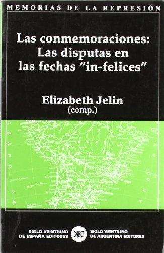 """Las conmemoraciones: Las disputas en las fechas """"in-felices"""" (Memorias de la represión)"""