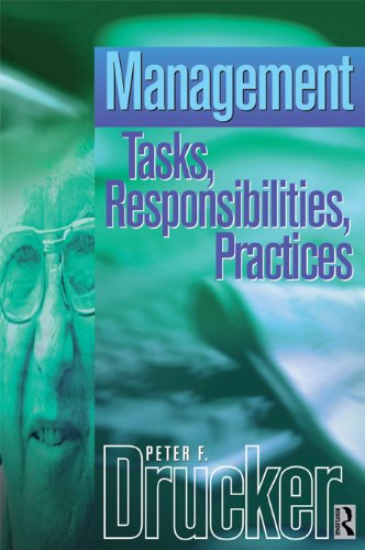 Management: Tasks, Responsibilities, Practices (Drucker) (English Edition)