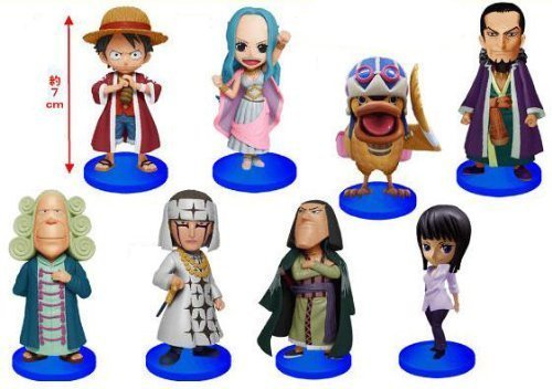 ONE PIECE One Piece World Collectable Figure vol.15 set all eight species (japan import)