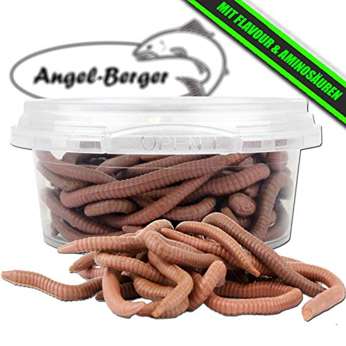 Angel-Berger WDB Amino Live Baits lebend Köder Made Wurm (Red Worm)