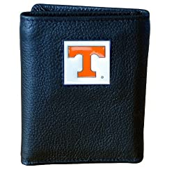 Tennessee Volunteers Genuine Leather Tri-fold Wallet