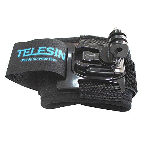 TELESIN 360 Grad drehbar, mit Handschlaufe Mount für Gopro Hero 3/3/4