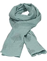 Mulberry Tree Celebrity Designer Scarf Womens Scarf Shawl Wrap Ladies Long Scarf - SWANKYSWANS