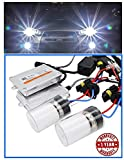 PR HID Headlight Conversion Kit HID Light White Xenon 55watt High Power 8000K