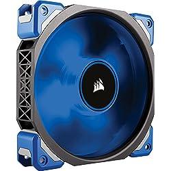 Corsair - CO-9050043-WWML120 - PRO Ventilateur de Boitier, 120mm, Premium Ventilateur à Lévitation Magnétique, Bleu LED (Single Pack)