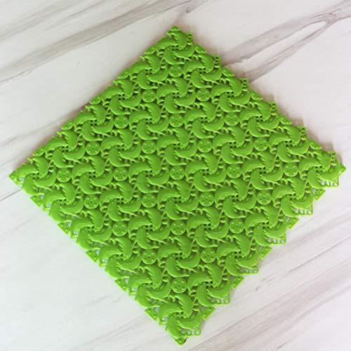 OMUSAKA Küche Teppich undicht rutschfeste Matte Duschmatte DIY Nähte Teppich WC Matte Multicolor Bodenmatte