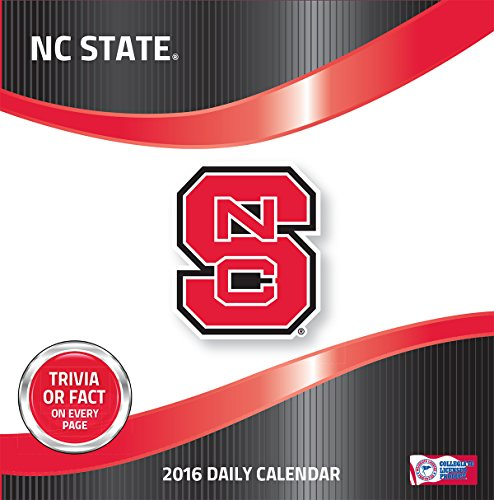 Turner NC State Wolf Pack 2016 Box Calendar, January-December (8051390) by Turner (State Pack Nc)