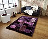 Global Home Brand New Hand Loom Modern Stone 5D Shaggy Rugs And Carpets For Living Room, Hall