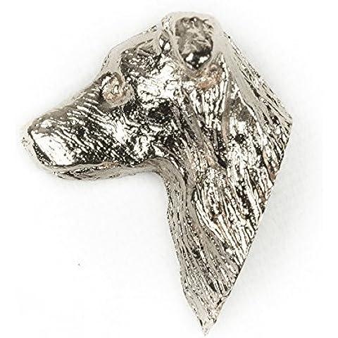 Collie de la frontera Hecho en Reino Unido Artístico Perro Pin Insignia Colección