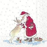 IHR Serviette Santas Freund 20 Stück