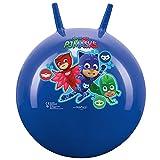 John- Sprungball PJ Masks-Bedruckter Hopperball, Hüpfball, Springball, Hopper Ball Drinnen & Draußen-wiederaufblasbar, Robust-Fitness für Kinder 59005 Palla per Saltare, Colore Blau
