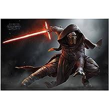 Póster Star Wars Episode VII - Kylo Ren Crouch - cartel económico, póster XXL