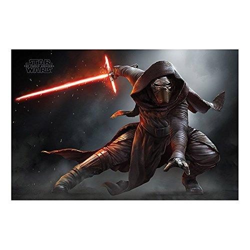 Poster Star Wars Episode VII - Kylo Ren Crouch - preiswertes Plakat, XXL Wandposter