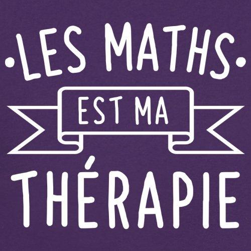 Les maths est ma thérapie - Femme T-Shirt - 14 couleur Violet