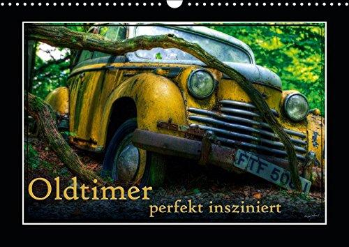 ziniert (Wandkalender 2019 DIN A3 quer): Bilder verschiedener, teils ausgedienter Oldtimer (Monatskalender, 14 Seiten ) (CALVENDO Mobilitaet) ()