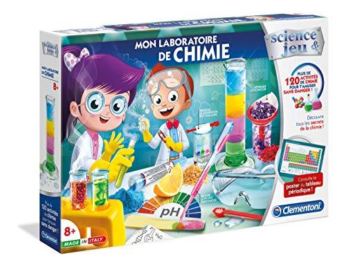 Clementoni- Science & Jeu-Mon Laboratoire de Chimie, 52344, Multicolore