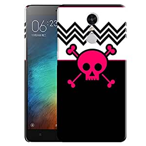 Theskinmantra Skull stop back cover for Redmi Note 3