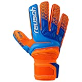 Reusch Herren Prisma Prime G3 Torwarthandschuh Shocking orange/Blue 9.5