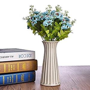 Syndecho Ramo de crisantemo Artificial de 2 Ramas con 15 Cabezas para decoración del hogar, Fiesta de Boda