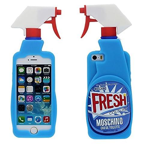 Créatif Marques iPhone Désodorisant Conception Coque, Souple Silicone Gel Beau