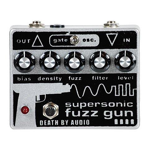 Death By Audio Supersonic Fuzz Gun · Pedal guitarra eléctrica
