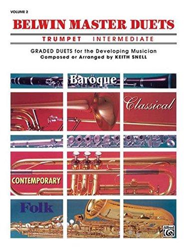 Belwin Master Duets (Trumpet), Vol 2: Intermediate