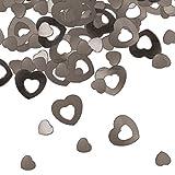 Folat 15g Tischkonfetti Herz Silber Hochzeit