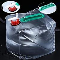2 PCS 20L Outdoor Foldable PVC Drinking Bag Camping Equipment