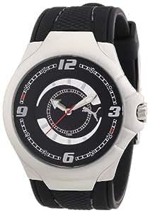 Puma Time Motorsport Herrenuhr SLIM PEDAL II GENTS SILVER A.PU101681003